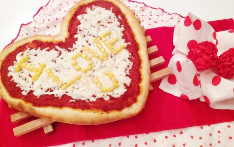 Pizza coeur d\'amour